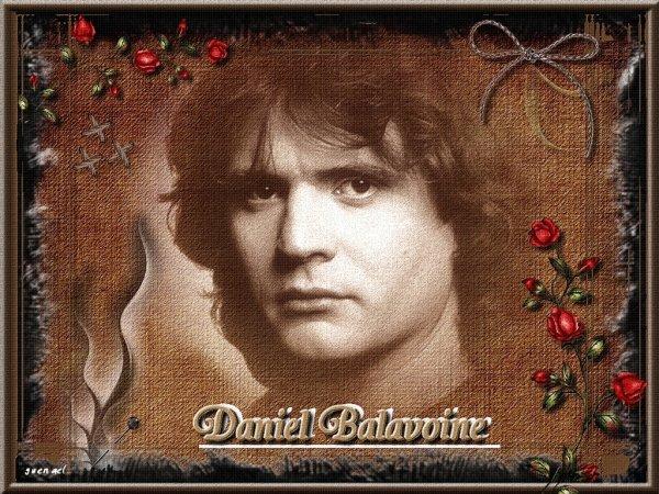 DANIEL BALAVOINE ......