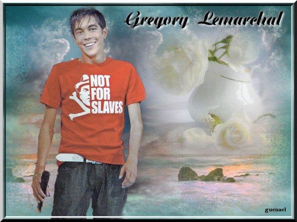 GREGORY LEMARCHAL hommage 4 e partie ...   3 nouvelles creations