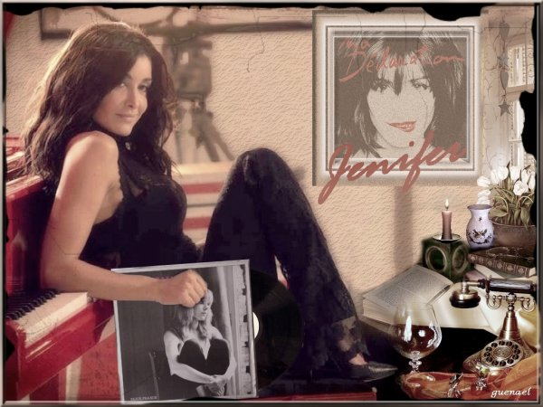 "JENIFER   nouvelle creation ""mes chouchoutes  chantent france gall"