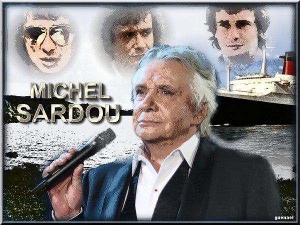 MICHEL SARDOU  /   nouvelle video , nouvelle creation