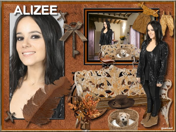 ALIZEE      nouvelle video   / nouvelle creation