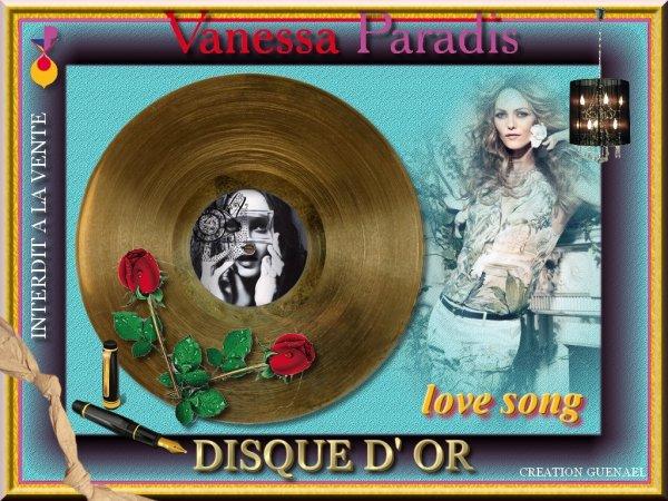 DISQUE D OR VANESSA  3 nouvelles creations /  3 videos