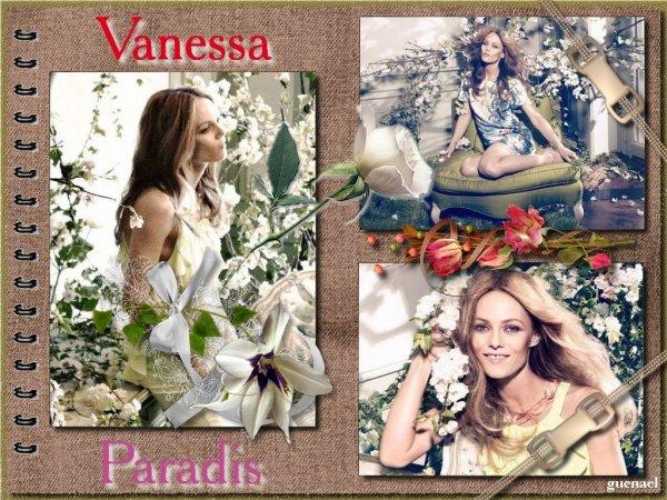 VANESSA PARADIS NOUVEAU DIAPORAMA. 2013