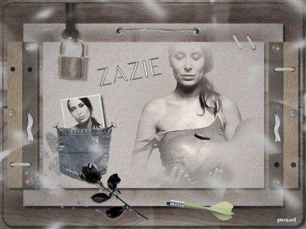 ZAZIE  2 E PARTIE    nouvelles creations