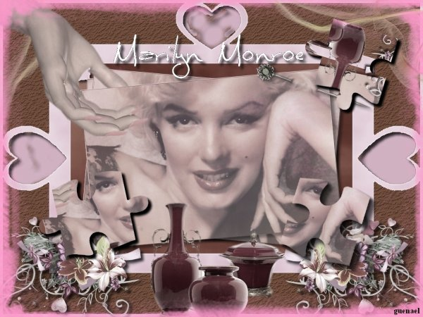 MARYLIN MONROE   ....  3 nouvelles creations