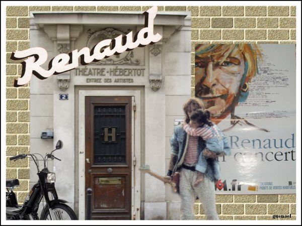 RENAUD  2 articles  ..4 nouvelles creations !  diaporama  FB