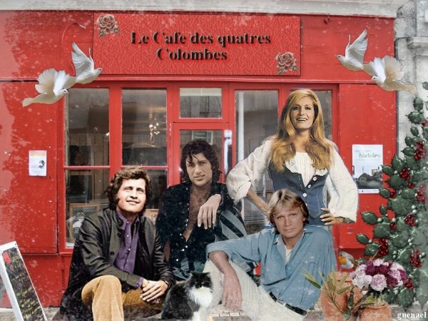 LE CAFE DES 4 COLOMBES