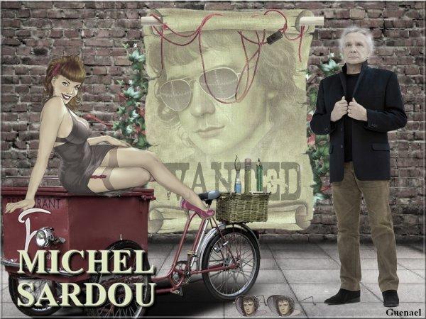 MICHEL SARDOU  &    JOHNNY HALLYDAY