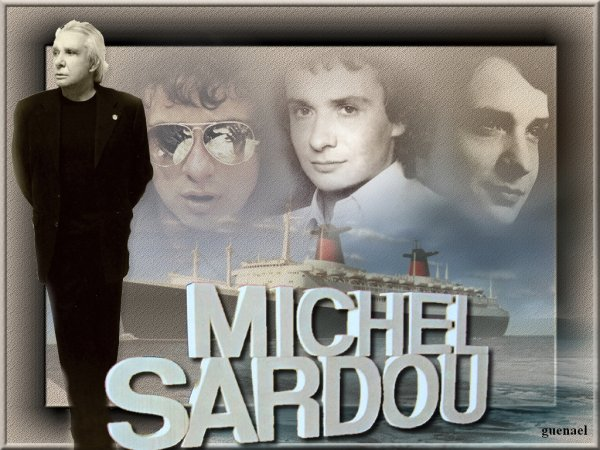 MICHEL SARDOU  &    JOHNNY HALLYDAY