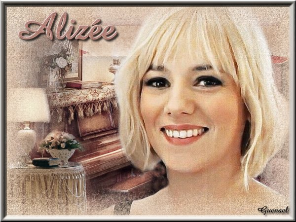 ALIZEE         BLONDES  ( nouveau diaporama  nouvelle creations playliste  )