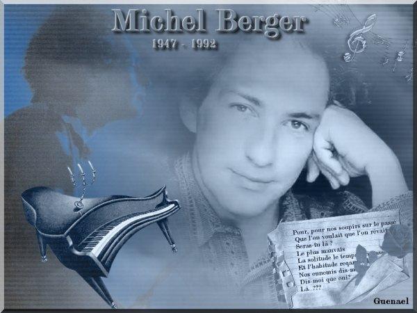 HOMMAGE MICHEL BERGER