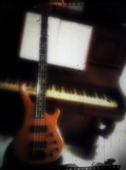 Ma basse & mon piano =)