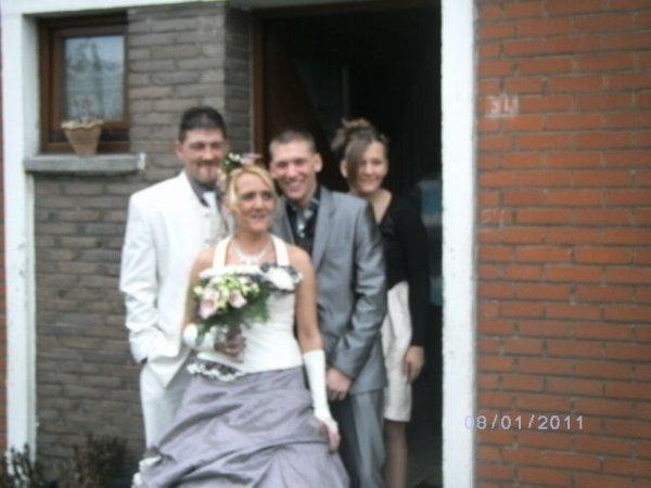 8 janvier 2011 : mariage de la meilleure amie de maman