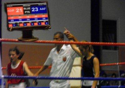 Sara HAMRAOUI , Championne d'Algerie 51kg 2011.