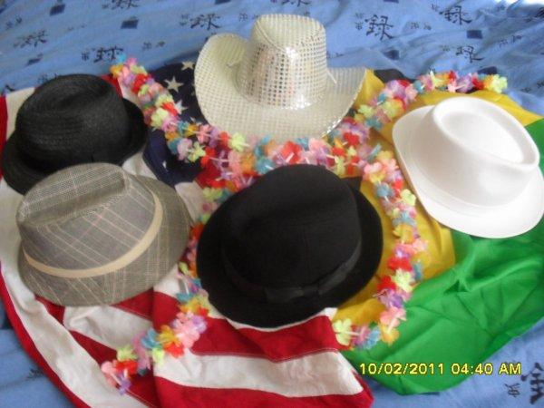 les chapeau pour les soiree
