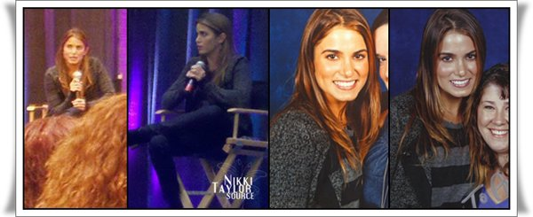 Nikki à la Convention Twilight + Taylor sur le tournage d'Abduction !