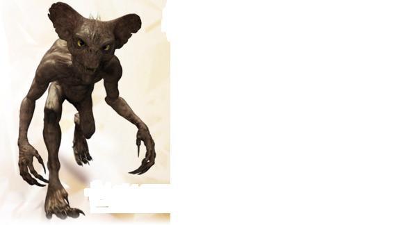 Creature camouflée