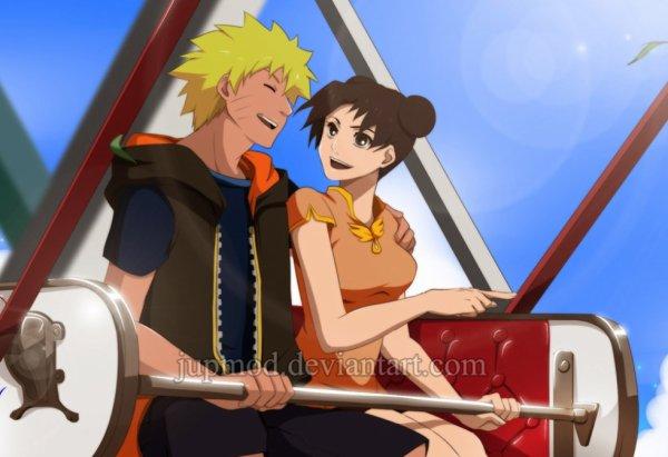 Tenten et Naruto