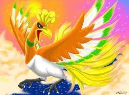 Le phoenix légendaire Ho-oh !