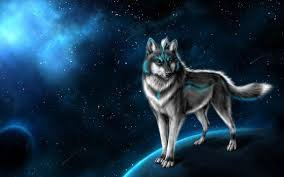 un manifique loup