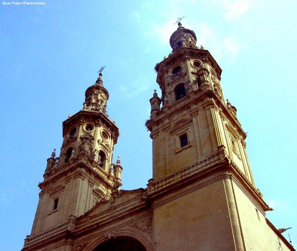 → Logroño : Concatedral de Santa María de la Redonda