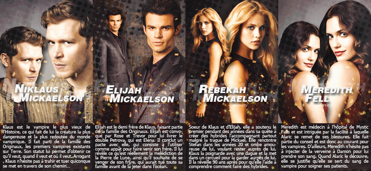 _■ Les personnages de The Vampire Diaries Tv Show !__■ Personnages principaux et secondaires, quel est où sont vos personnages favoris de la série ?