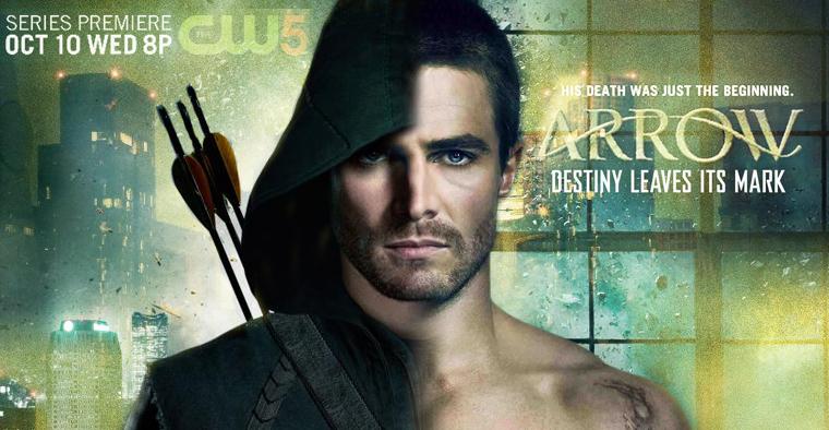 ■ Arrow - Premiere de la série : 1x01 «Pilot» . Date de diffusion : 10 Octobre 2012 8/7c sur la CW .