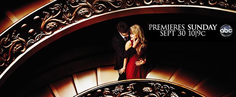 ■ 666 Park Avenue - Premiere de la série : 1x01 «Pilot» . Date de diffusion : 30 Septembre 2012 10/9c sur la ABC .