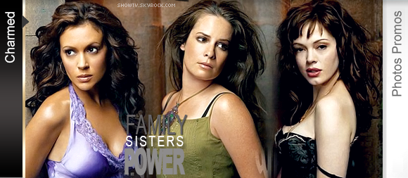 ■ Their mother always told them they were special. The Halliwell sister's secret is about to become front page news.
