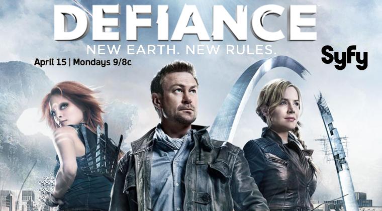 ■ Defiance - Premiere de la série : 1x01 «Pilot» . Date de diffusion : 15 Avril 2013 9/8c sur Syfy .