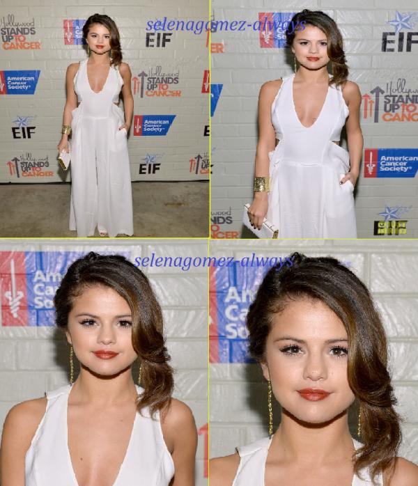 Selena a une soirée contre le cancer + ce balladant  à L.A