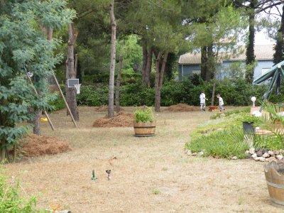 voici le jardin