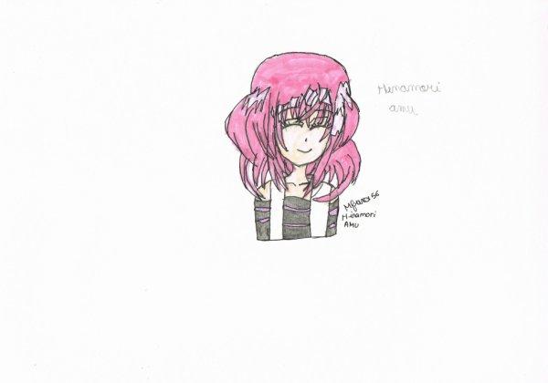 dessin hianmori amu ( après colorage)