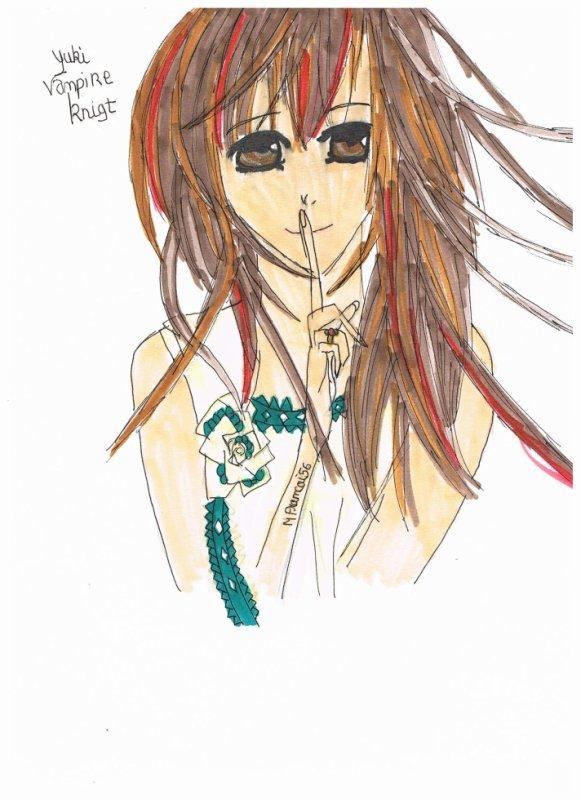 et voici Yuki Kuran/Cross dessiner par moi bien sur