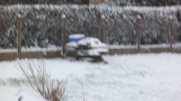 Encore chez moi !! la neige