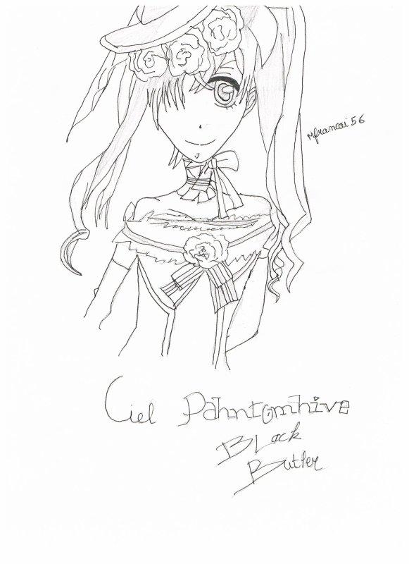Ciel Pahntomhive ( blak butler)