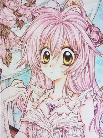 Voici une reproduction d'un dessin de Arina Tanemura :D