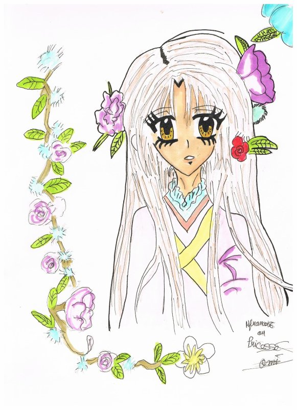 Princesse Sakura dessin ^^