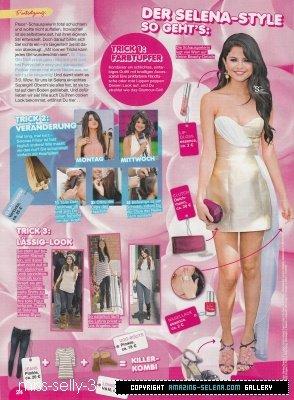 selena gomez 2012 > Yeah magazin 2. szám