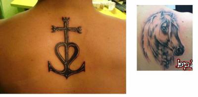 5b88442f7b2 Dessin de croix camarguaise tatouage
