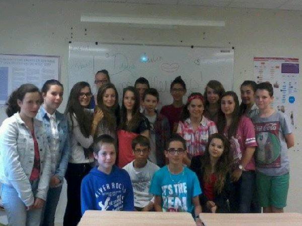 Ma classe...♥