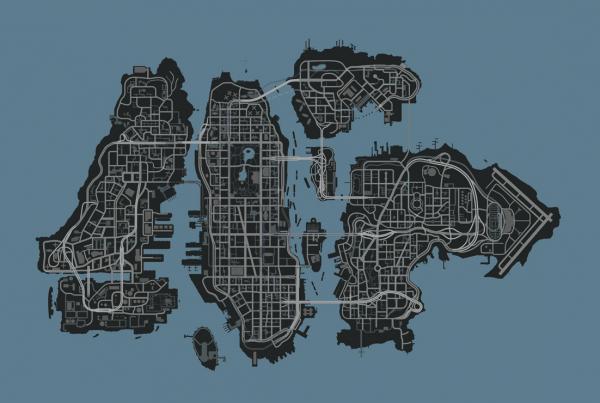 Map gta ( Entiere )