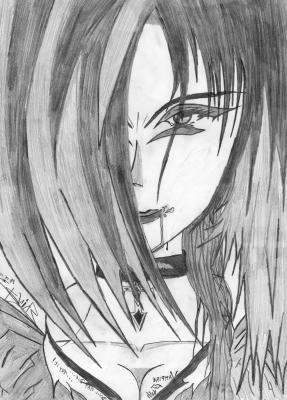 dessin manga mechant