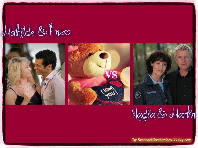 Mathilde & Enzo VS Nadia & Martin