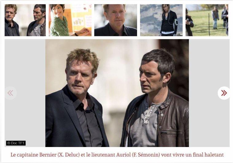 Section de recherches, TF1: la saison de tous les bouleversements !