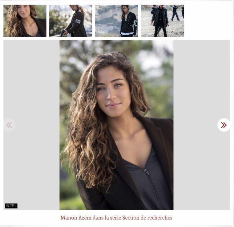 """Manon Azem, Section de Recherches, TF1 : """"Je ne pouvais pas rester Sara Cazanova toute ma vie"""""""