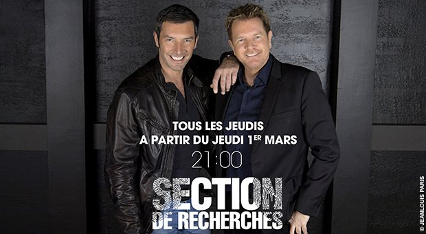 Nouvelle saison de Section de recherches dès le 1er mars sur TF1.