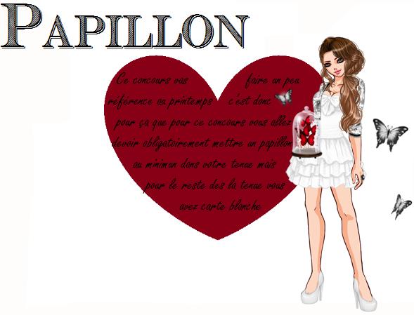 * Concours: Papillon *