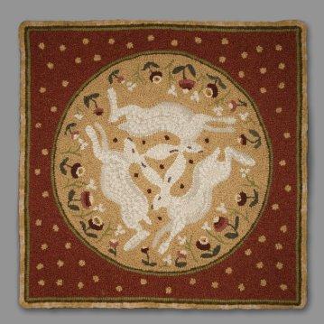 Trois lièvres Drei hasen Three hares Bridford - Devon - Angleterre