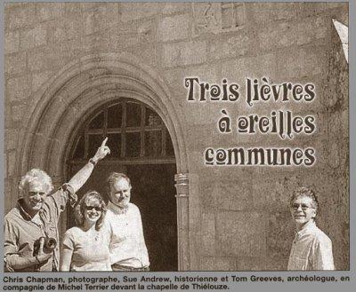 """Trois lièvres Drei hasen Three haresPréambule de """" Trois - Lièvres """""""